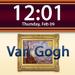 Clockscapes Vincent Van Gogh - Animated Clock Display