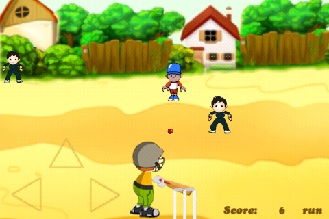 Screenshot street cricket